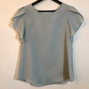 Light light blue blouse